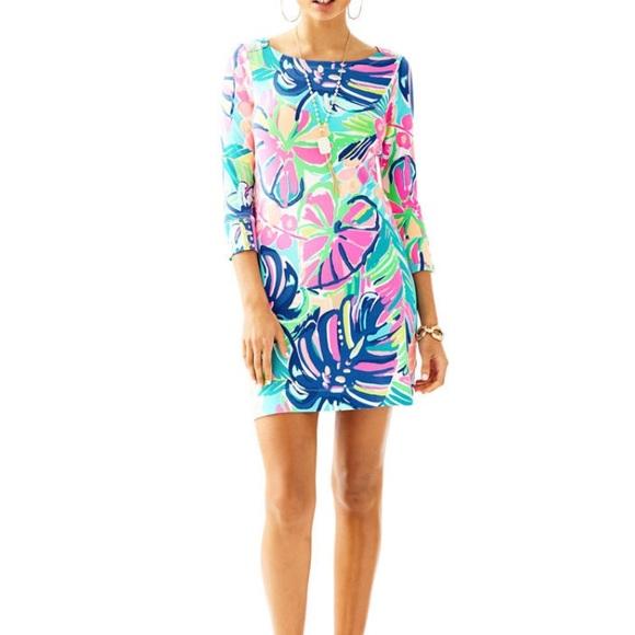 6b5f453f096d33 Lilly Pulitzer Dresses | Sophie Dress Exotic Garden Upf 50 | Poshmark